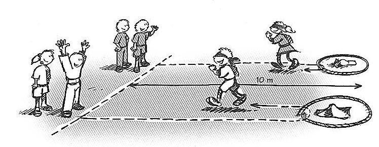 Jeux de relais sportif